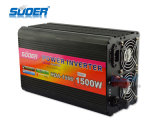 Inverseur de véhicule de Suoer 1500W 12V 220V avec le chargeur (HAD-1500C)