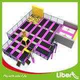 Parque modificado para requisitos particulares BRITÁNICO del trampolín de los niños del diseño de la bola de regate