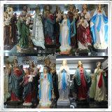Statue religiose della famiglia di natività resina su ordinazione di alta qualità della fabbrica della poli, statue religiose cattoliche stabilite di natività della resina (IO-ca_samples)