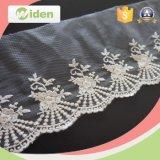 Schöne Brautstickereiapplique-Tulle-Spitze für Hochzeits-Kleid
