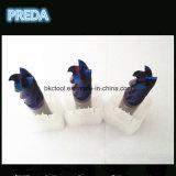 Blauer überzogener Scherblöcke HRC60 CNC-Fräser für Edelstahl