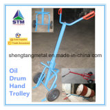 鋼鉄Oil Dispensing Drum Trolley 500kg