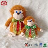 Jouets debout d'enfants de singe mou bourrés par peluche matérielle neuve