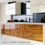 Forces de défense principale UV élevées Kitchen Cabinet Door de Glossy avec PVC Edge