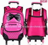 [بو] أطفال حامل متحرّك يدحرج مزدوجة كتف طالب حمولة ظهريّة حقيبة ([س3521])
