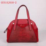 Kleur van het Contrast van de Manier van het Leer van Gussaci 2015 de Nieuwe Pu Dame Handbag