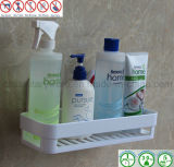 ABS rettangolare Bathroom Storage Rack con Air Vacuum Suction Cup