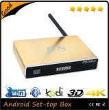 Casella Android Xbmc/Kodi 16.0 di Google TV di memoria del quadrato del contenitore superiore stabilito 2.0GHz di ROM Amlogic S812 F8 HD di RAM 8g della casella 2g della TV