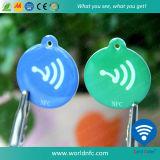 ISO14443A Copper Paper13.56MHz Ntag213 Adesivo Adesivo RFID NFC