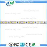 Alto indicatore luminoso di striscia flessibile bianco freddo di lumen SMD5050 LED con l'UL del CE