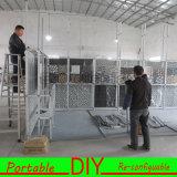 Cabine justa do carrinho portátil versátil modular de alumínio da feira profissional da cabine da exposição