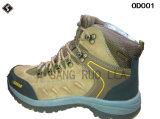 防水屋外の靴に上っている革安全人