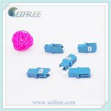 Tipo atenuador do adaptador da fibra óptica (fêmea LC/UPC à fêmea LC/UPC)