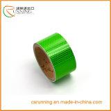 Etiqueta de cobertura reflexiva transparente da película plástica da folha reflexiva autoadesiva redonda da chapa de matrícula do carro do PVC