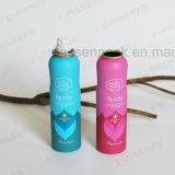 Bidon de jet en aluminium d'aérosol de parfum de parfum avec le corps Shaped (PPC-AAC-010)