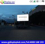 Vehículo publicitario móvil de P6 LED con la visualización