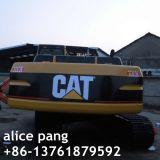Fácil-Conducción del excavador de la correa eslabonada de 166HP/25ton Caterpillar para la maquinaria de construcción con la Cerrar-Cabina
