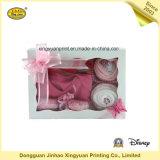 Casella di /Packing della casella di /Paper del contenitore di regalo della finestra del PVC (JHXY-PB0033)