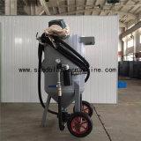 Contrôle pneumatique 11kw de petite sableuse mobile