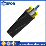 Cabo de fibra óptica de vidro do fio 6/12fiber da extensão longa de ADSS