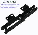HS101.6, HS152.4, Ltf665-164, Ltf100 의 Ltf125 컨베이어 사슬 그리고 곡물 기계를 위한 용접된 강철 긁는 도구 사슬