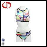 Heiße Entwurfs-Jugend-kundenspezifischer Firmenzeichen-Frauen-Badebekleidungs-Bikini Wholasale