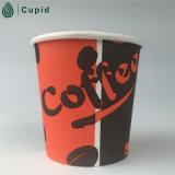 Tazas de café de papel calientes de la impresión de Flexo de la alta calidad
