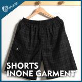 Inone 033 Mens nada Shorts ocasionais da placa das calças curtas