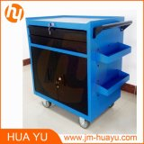 Service mobile Cart Tool Cabinet Garage Storage con 2 Drawers 2 Doors e Key
