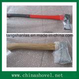 Outil à main de coupe de bonne qualité pour fendre l'houille en acier au carbone avec poignée