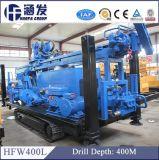 буровая установка добра воды глубины 400m, модельная буровая установка Crawler DTH Hfw400L