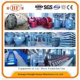Mattone aerato producendo il macchinario delle macchine, dell'edificio e della costruzione
