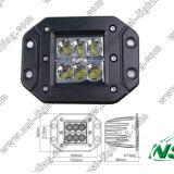 La lumière affleurante de travail du cube 12V 24V DEL pour les véhicules IP67 imperméabilisent E-MARK