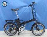 La E-Bicicleta plegable de la aleación de aluminio con Ce aprobó (JSL039XA)