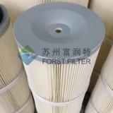 Cartucho de filtro no tejido del polvo de la tela de Forst Spunbond para la capa del polvo