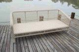 Im Freien Weidenmöbel-Rattan-Sofa