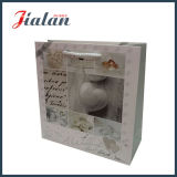 Лоснистое слоение продает изготовленный на заказ сделанный логос оптом мешком подарка венчания упаковывая