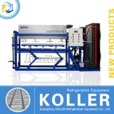 Hielo directo evaporado alto de la eficacia de Koller 3 toneladas de máquina del bloque