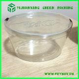 Plastikzylinder-unverschmutztes verpackenkasten-rundes Gefäß