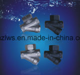 Tipo trampa de la energía termal del acero de molde (disco) de vapor
