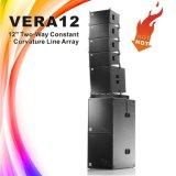 """Audio Vera 12 het Systeem van de Spreker van de Serie van de Lijn van """" Hoge Prestaties 12"""