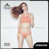 단단한 Color Beach Wear Knitted Sexy Bikini Lingerie 숙녀