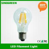 높은 루멘 효율성 100lm/W 360 정도 8W 필라멘트 LED 전구