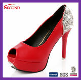 Fisch-Mund-Dame Fashion Shoes
