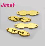 Значок металла формы цвета золота специальный для джинсыов и сумки