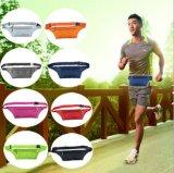 Cuerpo Al Aire Libre Cinturón Invisible Bolsa Running Fitness Deporte Wasit Packs Teléfono Celular Pounch