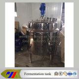 Depósito de fermentación del yogur de la leche del acero inoxidable
