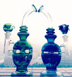 Usine en verre de pipe de tabagisme de Hitman d'oeufs ouvriers en verre en gros de conduites d'eau