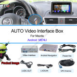 Car Android Navigation Interface for Mazda 2014 Mazda Axela, Atenza, Cx-5 with Google Play Store, Voice Navigation