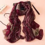 Шарф хлопка способа женщин напечатанный Paisley Silk (YKY1143)